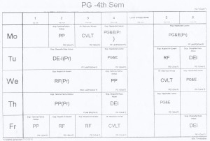 4th-semester-time-table