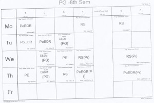 8th-semester-time-table