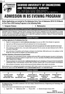 Final Admissions in BS Oct-18 (DUET) 22 x 4 pid-1479